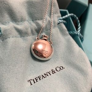 Authentic Tiffany & Co Round Bottle Necklace